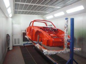 Restauration Porsche 911 Targa bei Kfz Baumgartner in Oberkappel