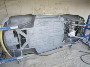 Restauration Porsche 356 B Cabrio
