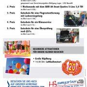 Einladung zur Feier 20 Jahre KFZ-Baumgartner