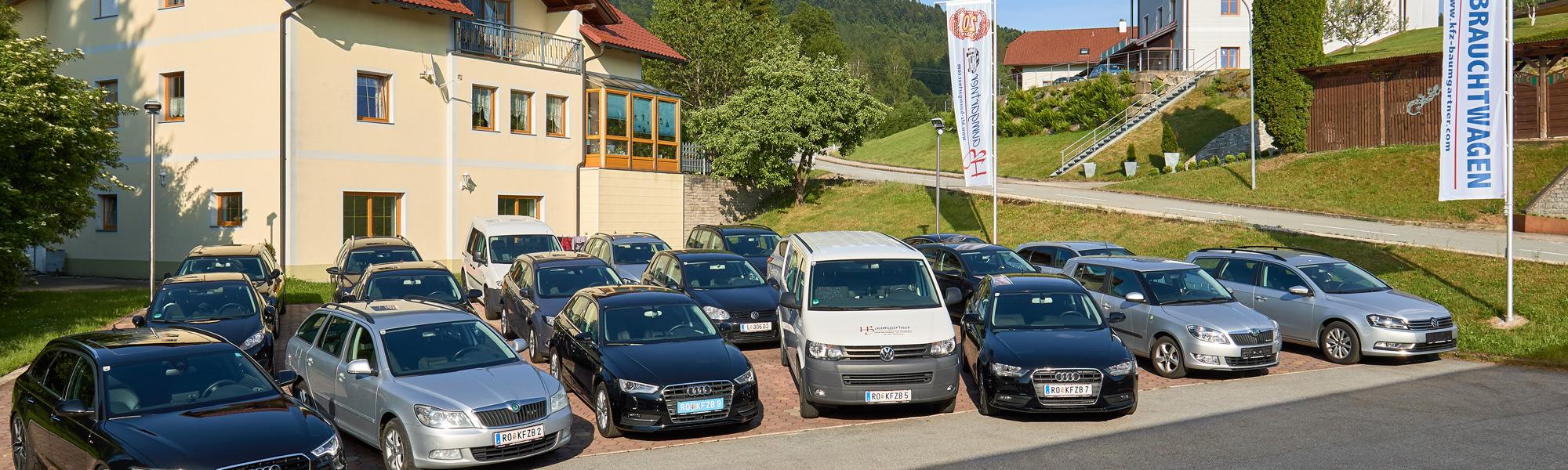 Gebrauchtwagen von KFZ-Baumgartner aus dem Bezirk Rohrbach in Oberkappel