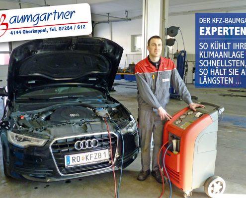 KFZ-Baumgartner Expertentipp - Klimaanlage